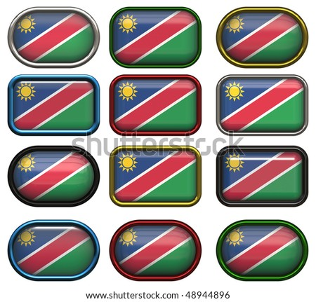 twelve buttons of the flag of nambia