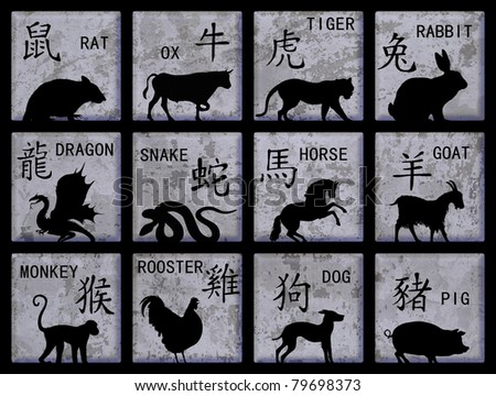 how to say the zodiac signs in japanese