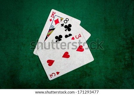 Can ace be high and low in texas holdem