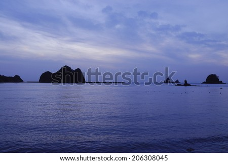 Twilight Of The Nisiizu Coast