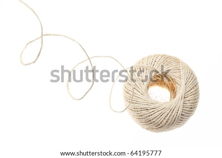 Twine clew - stock photo