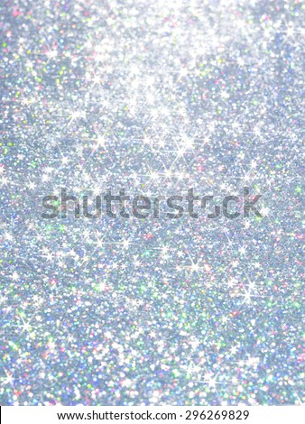 Twinkly Polarization pearl  Lights Background I shine in a Star-shaped   / Blur is beautiful - stock photo