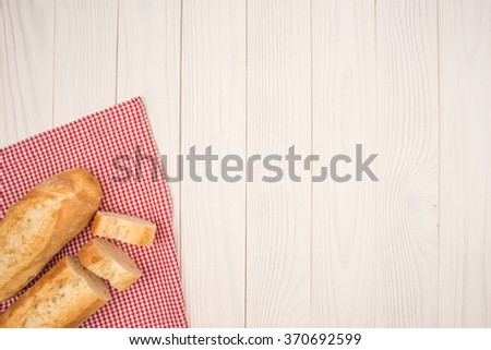 Two baguettes - stock photo