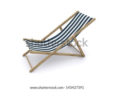 two beach chairs with sand