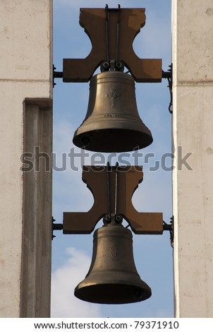Two bells in a church