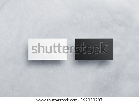 Two blank business card mockups isolated stock photo 100 legal two blank business card mockups isolated stock photo 100 legal protection 562939207 shutterstock reheart