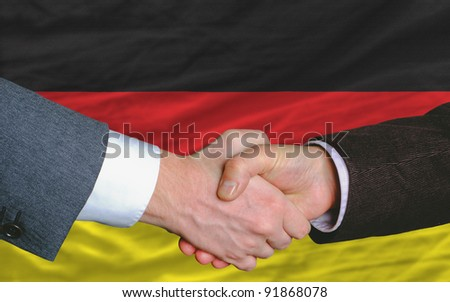 VeparS Germany  National Flag And Outline Maps Set On