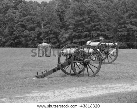 Two Cannons at Chickamauga Battlefield