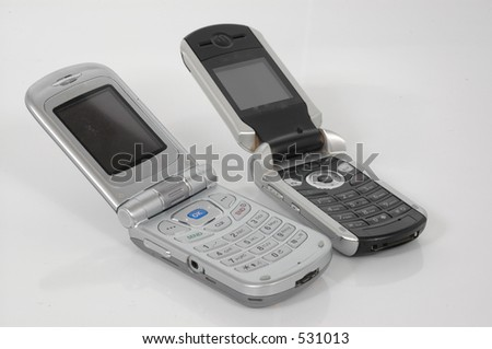 Two cellphones