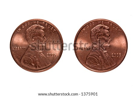 Two Cents - stock photo