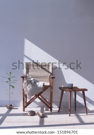 two chair - stock photo