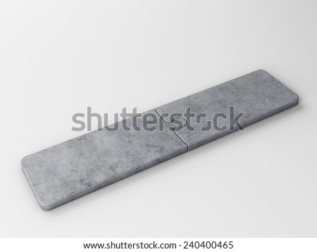 two concepts - stock photo