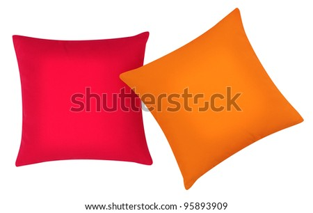 Two cushions.