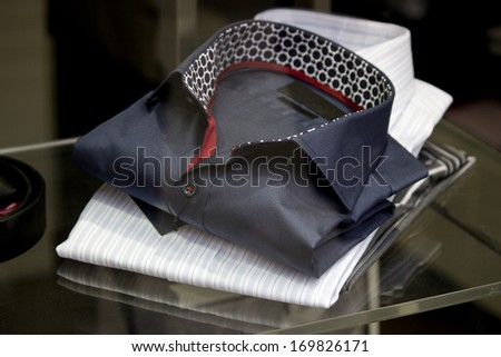 Two formal shirt - stock photo