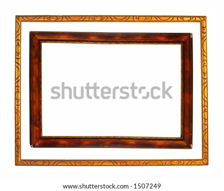 Two frames - stock photo
