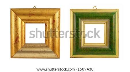 Two frames. More in my portfolio. - stock photo