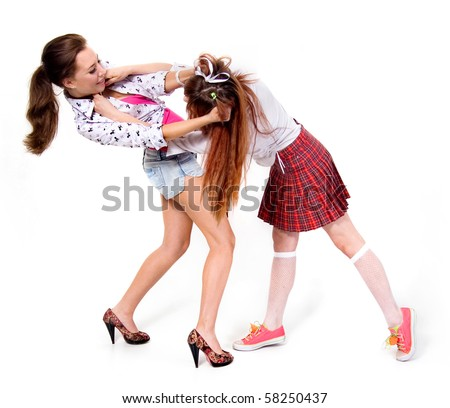 LOVE two girl fighting