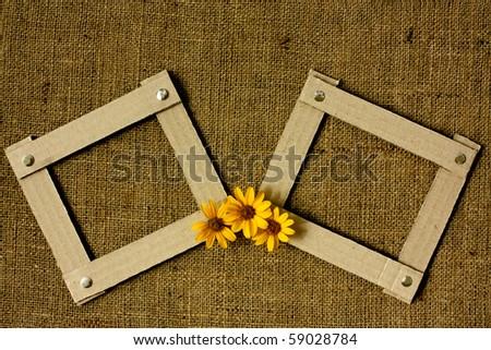 Two Handmade Cardboard Photo Frames Style Stock Photo (Royalty Free ...