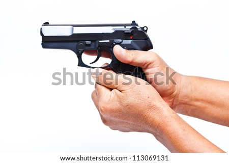 Finger pistol Stock Photos, Images, & Pictures | Shutterstock