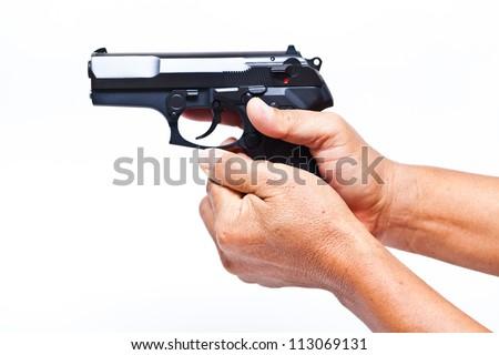 Finger pistol Stock Photos, Images, & Pictures | Shutterstock