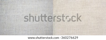 Two linen texture for background