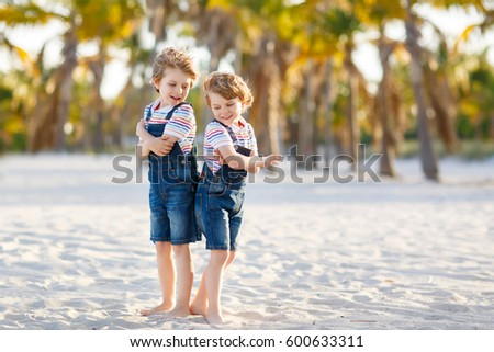 Two Kid Friends Walking
