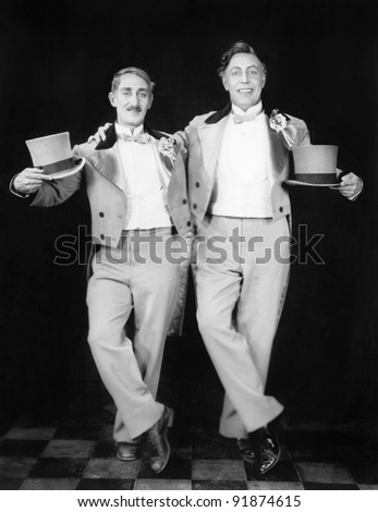 Two Men performers