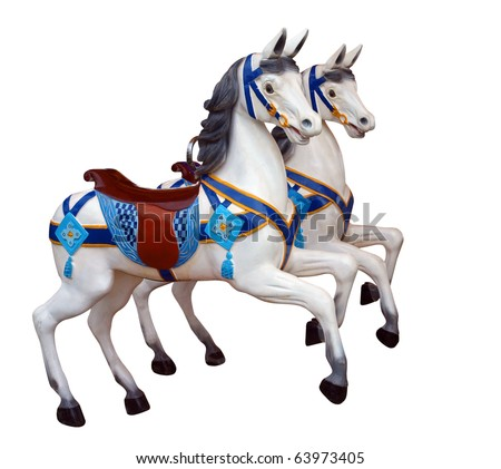 Merry go round horse stock images royalty free images for Merry go round horse template