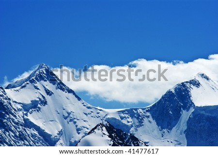 two mountains top