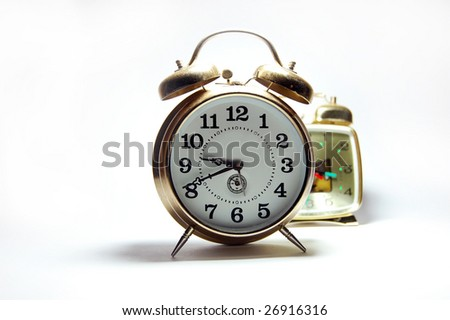 two old clock photo 2