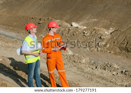 two road service engineer. Construction of a new road