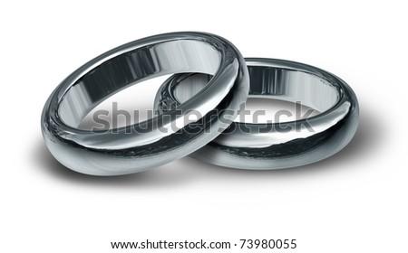 Interlocking Wedding Rings Stock Images Royalty Free Images