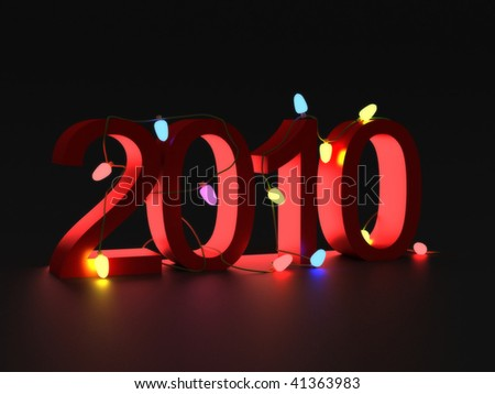 two  thousand and ten numbers for new year