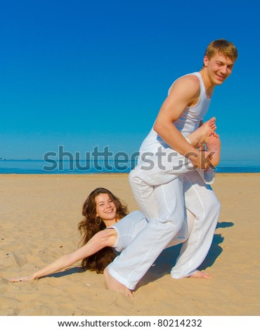 Two Together Beach Romance