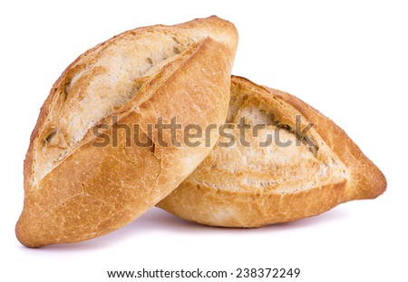 Two Turkish Breads - stock photo