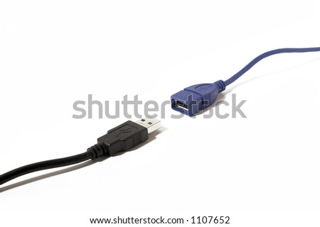 Two USB connectors close to