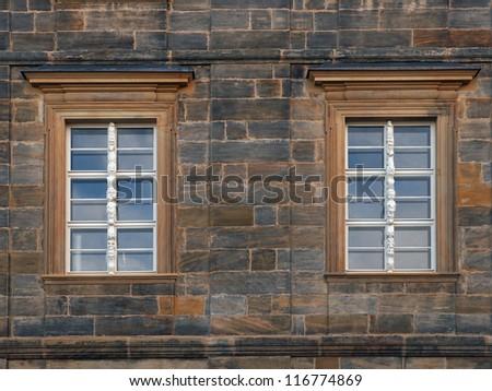 Two window - stock photo