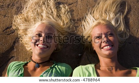 Two woman chilling