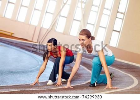 Anna Semenovich competed in stretching with Anastasia Volochkova 01/18/2016