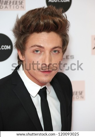 Tyler James arriving at the The Amy Winehouse foundation ball held at the Dorchester hotel, London. 20/11/2012 Picture by: Henry Harris - stock photo