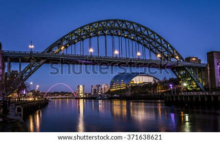 Tyne Bridge , Newcastle Quayside