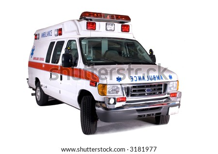 Type II Ambulance - stock photo