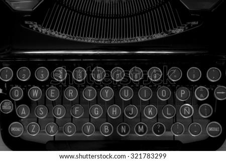 Typewritten - stock photo