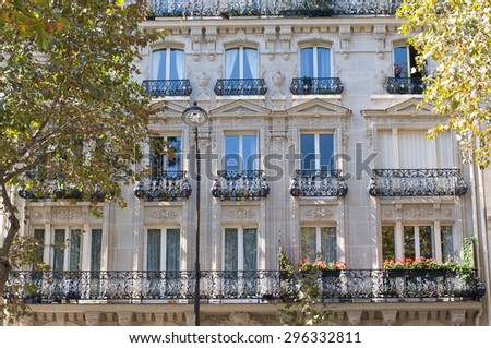 Typical Design Parisian Architecture Facade French Stock Photo ... on french modern dining room, polynesian house design, french modern outdoor furniture, french photography design, french modern art, french modern kitchen, french bathroom design, modern french country design, french bedroom design, french country house design, french modern architecture, french colonial house design, french tips design, french office design, french modern sofa, art deco house design, french modern living room, french color, french modern bedroom, french modern chair,