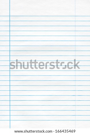 Typical note sheet, high resolution and quality. - stock photo