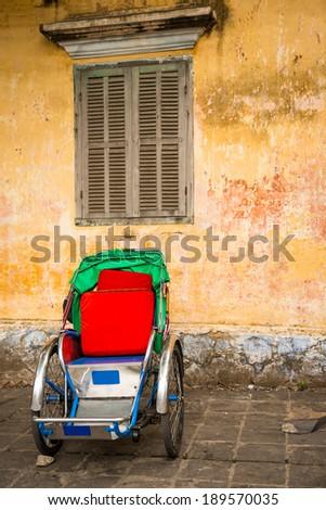 Typical transportation of Vietnam - stock photo