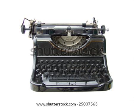 Typing machine - stock photo