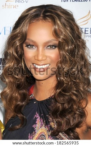Tyra Banks at Cosmopolitan's Fun Fearless Phenom Awards, Hearst Tower, New York, NY, September 15, 2008
