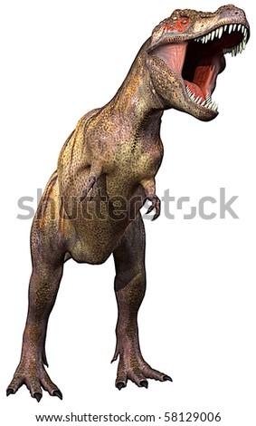 tyrannosaurus full - stock photo