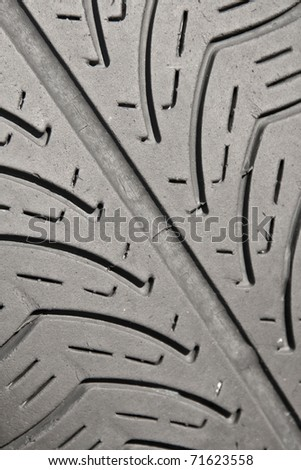 tyre texture - stock photo